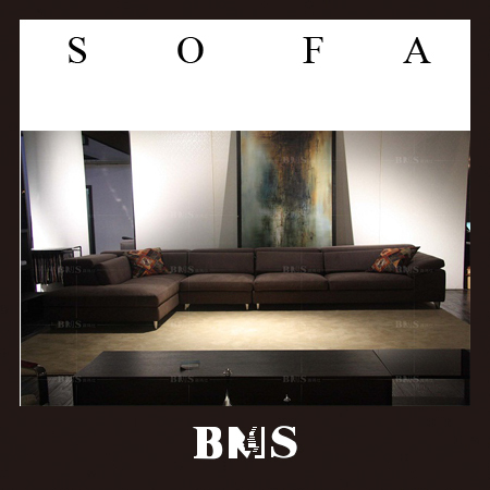 Simple sectional fabric sofa set crushed velvet sofa,Dark brown,good quality and low price