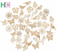 2019 Mini Wooden Craft Pieces by Laser Cutting