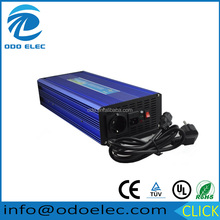 Professional 12vdc 220vac 2500w home use pure sine wave Inverter with battery charger