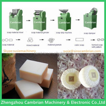 Single-screw soap plodder toilet soap making machine for laundry soap