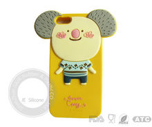 Cute silicone cell phone cover