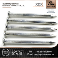 Galvanized steel concrete nails/common nails/roofing nails