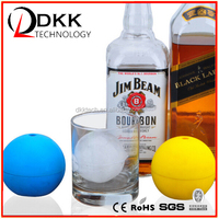 DKK-B070 1 Pack Silicone Mold Ice Cube Tray Ball For Star for in Wars Lovers or Party