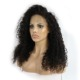 Unprocessed brazilian human hair wig curly wigs for black women