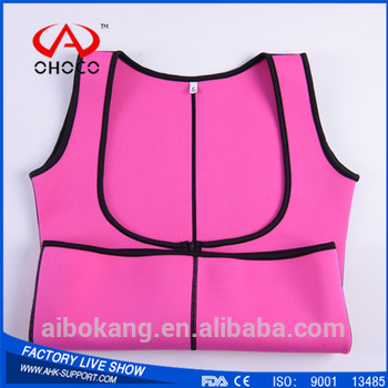 CE approved neoprene shaper waist brace in 2 different color