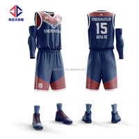 Top quality team league basketball jersey