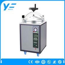 China Factory OEM Service 30L Stainless Steel Chamber Electric Heated Vertical Pressure Steam Sterilizer