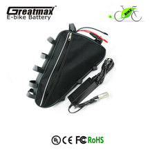 18650 triangle 48v 20ah battery pack for bicycle 1000w electric bike battery