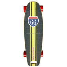 much lighter 2.75inch Small wheels 300w electric skateboard with hub motors skateboard deck