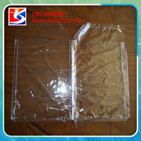 Pvc Plastic Zipper Pillow Storage Bag