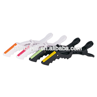 Professional plastic hair clip crocodile hair clips for sectioning