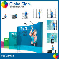 Exhibition Booth Trade Show Display Pop Up Display Backdrop Wall