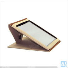 New arrival sunflower stand design leather case for ipad2/3/4 P-iPAD234CASE083