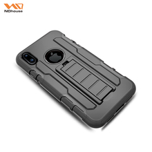NDhouse full protective universal for iphone 6 and x pc silicone case