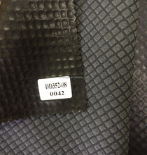 Embossed pattern synthetic PU leather for garments