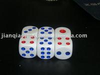Plastic dice&Dice&Game dice&Gambling dice