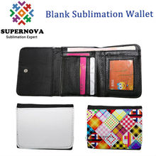 Sublimation Leather Wallet , Personalised Wallet ,Blank Leather Case