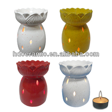 ceramic oil warmer lamp,small ceramic oil lamp