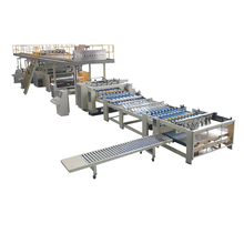 High Performance High Speed Papeboard Single Facer Machine Plant With Overseas Technical Service