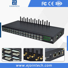 Ejointech 2G GSM VOIP Gateway supports SMPP&HTTP&AT command, can be compatible with asterisk, SIP IP phone