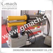 Plastic pellets making machine with self cleaning backflush screen changer