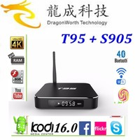 Dragonworth factory price t95 android tv box Amlogic s905 smart media player enough stock now