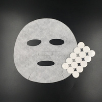 Wholesales 100% Cotton Mask Sheet Disposable Compressed Facial Mask