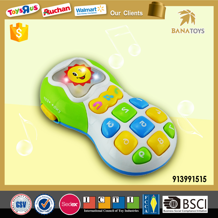 Hot Sell Toy Mobile Cell Phone for Kids