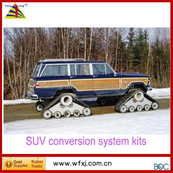 snowmobile ATV UTV offroad jeep SUV ATV conversion system
