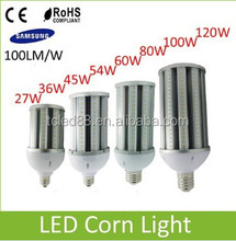 dimmable 120w led corn e27 light bulbs cob e40 led corn light 30w