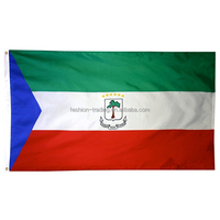 Professional manufacture directly sale equatorial guinea country car flag