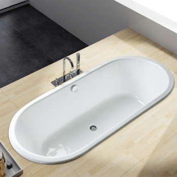 Double Ended Built in Cast Iron hot Bathtub