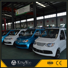 Kingwoo pure electric 2wd 4 passenger car