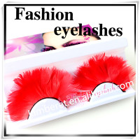 eyes cosmetic wholesale natural long thick colorful false eyelash