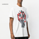 100% Cotton Custom Print Back Panel Oversize Jersey T-shirt 100 Combed Ring Spun Cotton Mens Tee Short Sleeve Stylish Top
