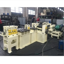 2-6mm flat bar extruding, chamfering and leveling machine