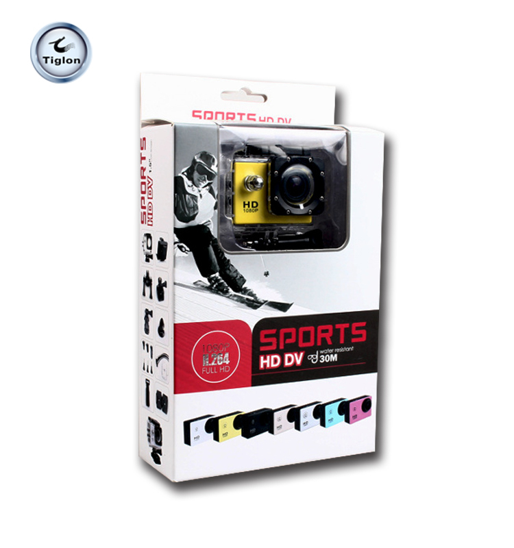 waterproof out door 1080p hd wifi sports cam action cam