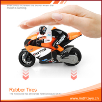 Remote control children 4D model car plastic 1:10 rc small toy motorcycles for kids