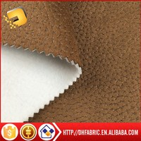 100% polyester faux suede fabric / suede leather for sofa cover