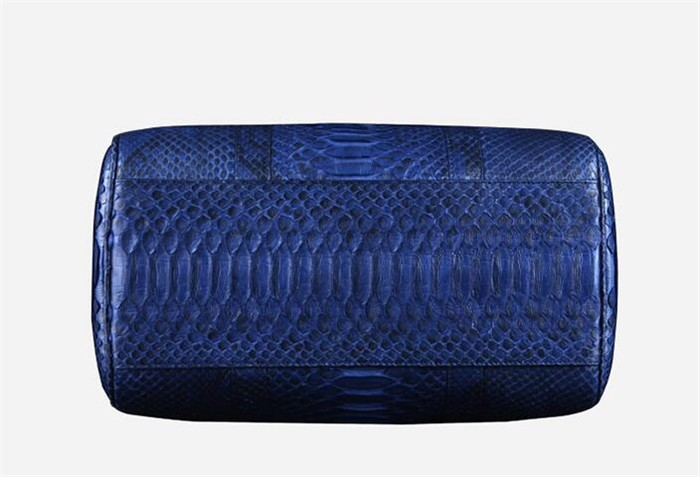 OEM Men's High End Real Python Snakeskin Leather Travel Duffle Bag for Clothes Storage_10