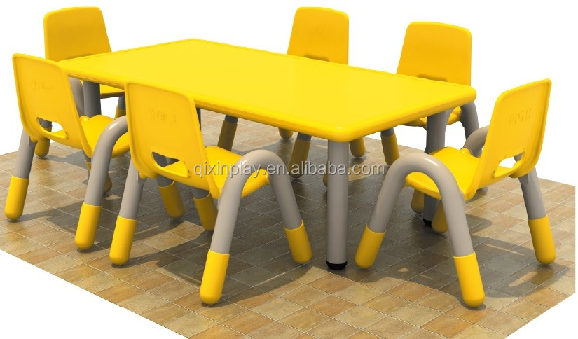 Kids Plastic Study Table And Chair Used Preschool Furniture For Sale Qx 193c Buy Used