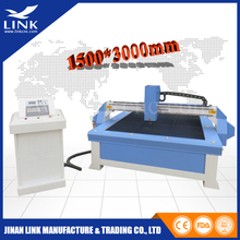 2030 1530 table palsma /flame cnc plasma metal cutting machine / EASY CONTROLLED auto cad plasma cutting machine