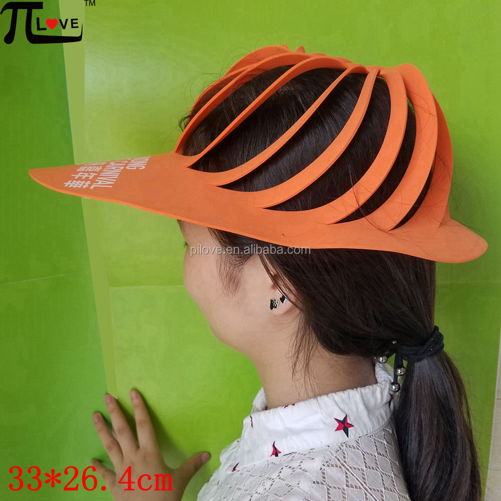 Custom tour group cheap promotional gifts eva foam hats