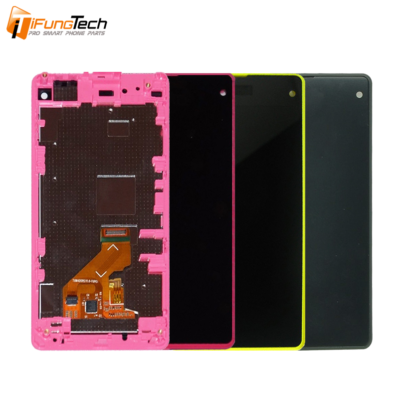 100% Tested Mobile Phone LCD For Sony Xperia Z1 Mini LCD Digitizer Z1 Compact D5503 LCD Assembly Replacement Parts