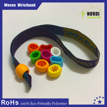 interesting product adjustable polyester wristband