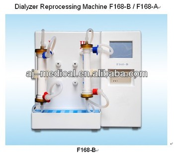 automatic Dialyzer Reprocessing Machine with double workstation F168-B