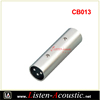 3 Pin Auto Cable Silver Connector CB013