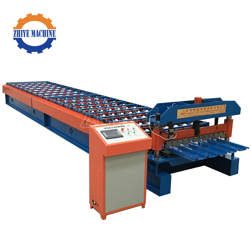 construction used roof & wall tiles making machine/computerized automatic color coated steel sheet roll forming machine