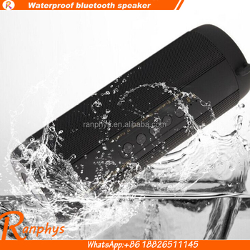 Ranphys T2 stereo bass wireless portable waterproof bluetooth speaker