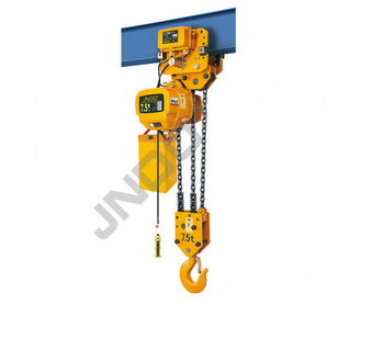 Material handling equipment heavy duty lifting tools 7.5 ton electric chain hoist